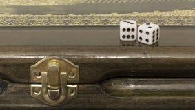 Azerbaijani backgammon Stock Photos
