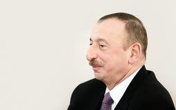Azerbaijani President Ilham Aliyev Royalty Free Stock Photo