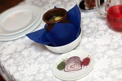 Azerbaijani shaki piti soup Royalty Free Stock Photo