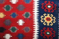 Azerbajan手工制造地毯 图库摄影