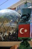 Azerbajan Pavillion Stock Foto