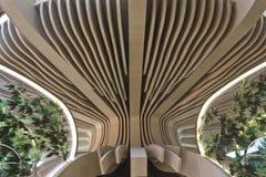 Azerbajan pawilonu struktura przy expo Fotografia Stock