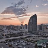 Azerbajian, Baku fotografia royalty free