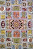 Azerbeidzjaans tapijten Royalty-vrije Stock Afbeeldingen