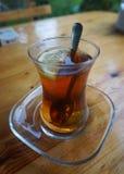 Azerbejdżańska Czarna herbata fotografia royalty free