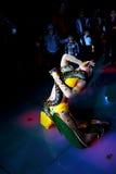 Azerbejdżan Baku, Kwiecień, - 23: niezidentyfikowany brzucha tancerz wykonuje Zdjęcia Royalty Free
