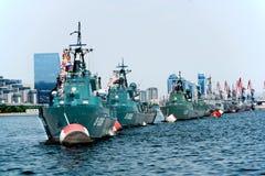 Azerbejdżan straż przybrzeżna Fotografia Stock