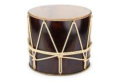 Azeri traditional drum nagara. On white stock image