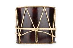 Azeri traditional drum nagara. On white stock images