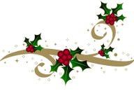Azevinho do Natal Fotografia de Stock Royalty Free