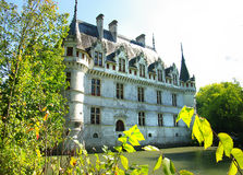 Azey-le-redeau chateau Stock Photos