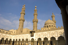 azhar moské för al Royaltyfria Foton