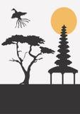 Azië royalty-vrije illustratie