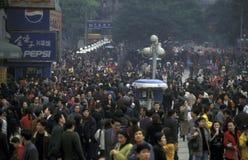 AZIË CHINA CHONGQING Stock Foto's