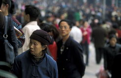 AZIË CHINA CHONGQING Royalty-vrije Stock Foto