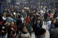 AZIË CHINA CHONGQING Royalty-vrije Stock Foto's
