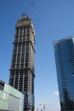 In Azië, China, Peking, in de bouw van het gebouw Stock Foto