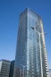 In Azië, China, Peking, in de bouw van het gebouw Royalty-vrije Stock Foto