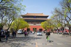 Azië China, Peking, de keizerpalaceï¼ Poort ŒDonghua Royalty-vrije Stock Fotografie