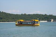 In Azië, China, Peking, het de Zomerpaleis, Kunming-meer, cruise, toneel Royalty-vrije Stock Foto's