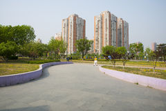 Azië China, Peking, het Park van het Zonpaleis, landschap architectureï ¼ Œ Royalty-vrije Stock Foto