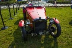 Azië China, Peking, Klassieke auto toont, de auto van Herbert Austin 1929 Stock Foto's