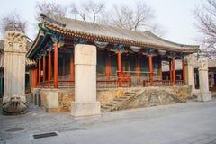 Azië China, Peking, Witte Wolkentempel ï ¼ ŒLandscape architectureï ¼ ŒPavilion, Galerij Royalty-vrije Stock Afbeeldingen