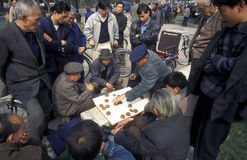 AZIË CHINA SICHUAN CHENGDU Stock Afbeeldingen