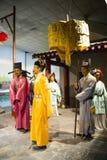 Azië China, waxwork Palaceï ¼ ŒHistorical van Peking Minghuang en cultureel landschap van Ming Dynasty in China Royalty-vrije Stock Fotografie