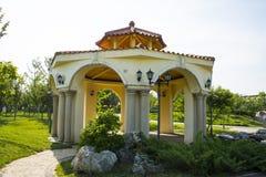 Azië Chinees, Peking, de architectuur ŒLandscape, Macao Gardenï ¼ Œpavilions van Tuinexpoï ¼ royalty-vrije stock foto
