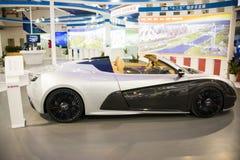 Azië, de wetenschap en de Technologieelektrische voertuigen ŒFuture, conceptenauto's van de Industrieexpoï ¼ van China Peking van Royalty-vrije Stock Foto's