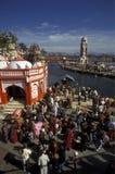 AZIË INDIA RISHIKESH Royalty-vrije Stock Fotografie