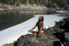 AZIË INDIA RISHIKESH Stock Afbeeldingen