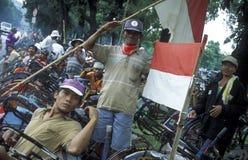 AZIË INDONESIË DJAKARTA Stock Foto's