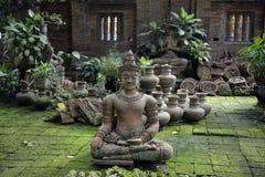 AZIË THAILAND CHIANG MAI WAT PHAN TAO Stock Afbeeldingen