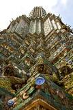 Azië Thailand in het zonnige standbeeld van Bangkok Stock Afbeelding