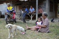 AZIË THAILAND ISAN AMNAT CHAROEN Stock Fotografie