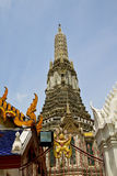 Azië Thailand in tempel abstract dwarsmozaïek Royalty-vrije Stock Foto's