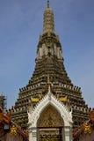 Azië Thailand in zonnige de tempel abstracte hemel a van Bangkok Stock Foto's