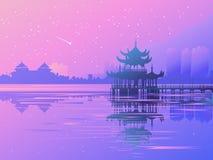Azia 3_01 stock illustrationer