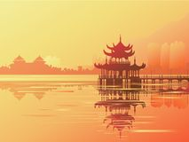 Azia 1_01 ilustração stock