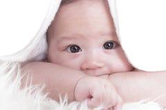 Aziatisch babymeisje Stock Afbeelding