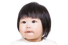 Aziatisch babymeisje royalty-vrije stock afbeeldingen