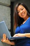 Aziatisch Bureau Dame 2 Stock Foto's