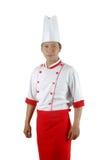 Aziatisch chef-kokportret Stock Afbeeldingen