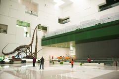 Aziatisch China, Peking, Chinese wetenschap en Technologie de tentoonstellingszaal van Museumï ¼ ŒIndoor, wetenschap en technolog Royalty-vrije Stock Afbeeldingen