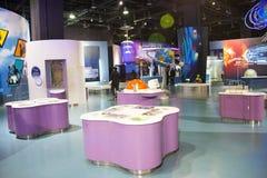 Aziatisch China, Peking, Chinese wetenschap en Technologie de tentoonstellingszaal van Museumï ¼ ŒIndoor, wetenschap en technolog Stock Afbeeldingen