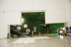 Aziatisch China, Peking, Chinese wetenschap en Technologie de tentoonstellingszaal van Museumï ¼ ŒIndoor, wetenschap en technolog Stock Foto