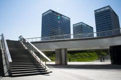 Aziatisch China, Peking, moderne architectuur Stock Foto