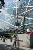 Aziatisch China, Peking, moderne architectuur, qiaofu geurig gras Royalty-vrije Stock Foto